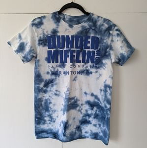 Graphic tee tie dye The Office Dunder Mifflin